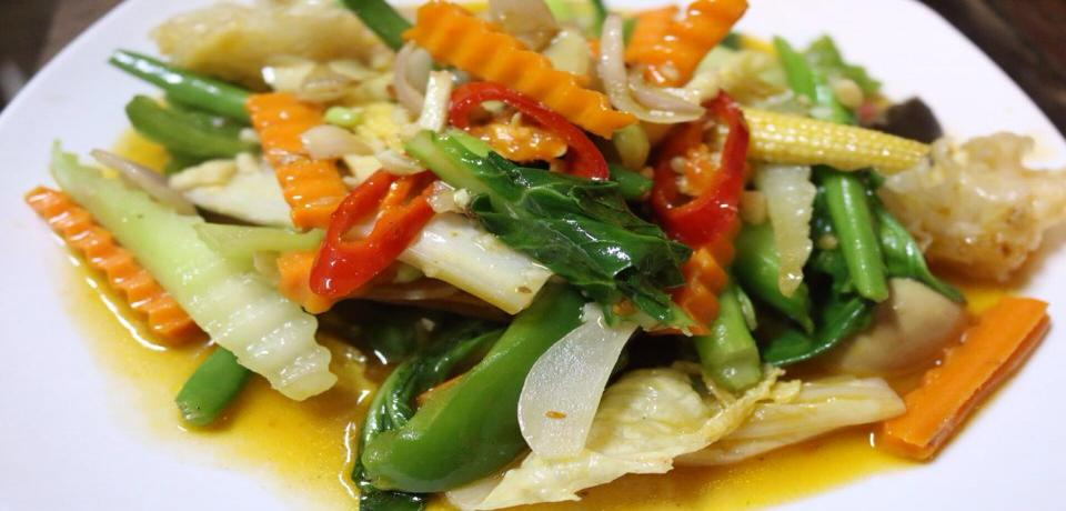 Fried Mix Vegetable